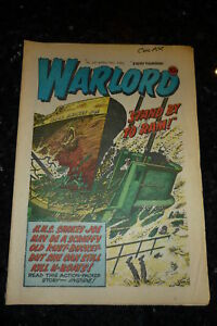 WARLORD Comic - Issue 291 - Date 19/04/1980 - UK Paper Comic