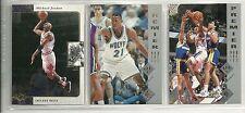 1995-96 SP Basketball 167-card set  Garnett  &  Stackhouse RC ROOKIES
