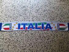 d12 sciarpa ITALIA football federation association scarf schal bufanda italy