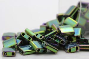 Miyuki Tila 2 Holes Beads - 5grs Bag Various colors