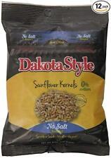 Dakota Style No Salt Sunflower Kernels, 8 Ounce (Pack of 12)