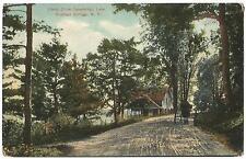 Richfield Springs New York NY (Otsego County) Canadarago Lake Camp Drive c.1908
