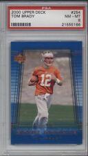 Tom Brady Rookie Card 2000 Upper Deck #254 NM-MT  PSA 8