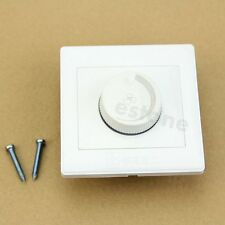 Adjustable 220V Controller LED Dimmer Switch Fr Dimmable Light Bulb Lamp - UK