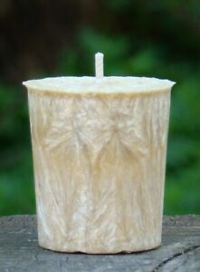 20hr CINNAMON Hand Made Spiced VOTIVE Candle TRIPLE SCENTED SAMPLER for REFILS