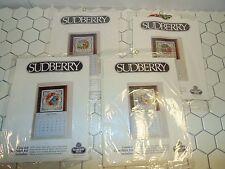 Sudberry House counted cross stitch kits 4 Seasons