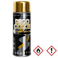 1 Stück 400ml gold Chromspray Effektspray Farbe Lack Gold-Lack-Spray 12250