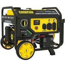 Champion 200973 3650 Watt Electric Start Dual Fuel Portable Generator With Rv