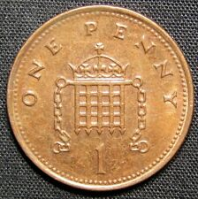 2001 Great Britain 1 Cent Coin
