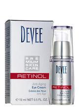 Devee Retinol Augencreme Anti-Aging Eye Creme mit Hyaluronsäure, 5160030