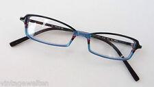 Glasses Kunststoffbrillen Damenfassungen Blue Black Small Glasses Size S