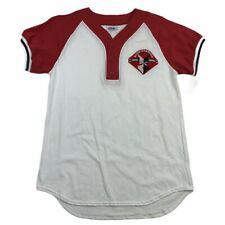 Men's Medium Indianapolis Indians Vintage Bush Stadium Majestic Jersey Shirt