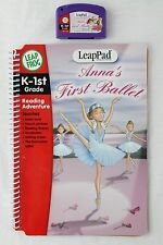 Leap Frog LeapPad ANNA'S FIRST BALLET Book and Cartridge