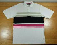 JANTZEN Natural Touch Lightweight Business Casual Or Golf Polo Shirt Mens Medium