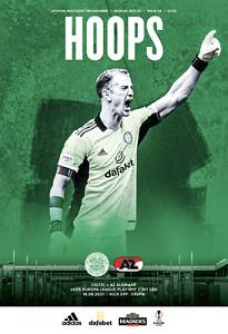 Celtic v AZ Alkmaar - Europa League Play-Off Eliminator - 18 August 2021 - Mint
