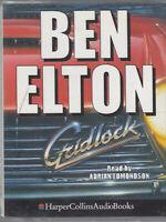Gridlock Ben Elton 2 Cassette Audio Book Abridged Adrian Edmondson FASTPOST