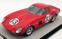 Tecnomodel 1/18 TM1896C - 1964 Ferrari 250 GTO Nurburgring 1000km 2nd Ltd 80 pcs