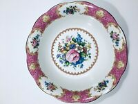 Royal Albert Lady Carlyle bone china round vegetable / fruit bowl  9""