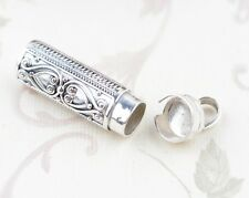 925 Sterling Silver Cremation  jewelry charm Pendant/Keepsake/Urn/ Ash P100
