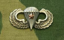 Us Army Basic Combat Parachutist Jump Wings; First Award, Regulation Full Size