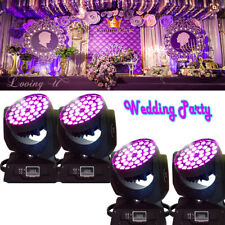 4X 360w Zoom Moving Head Light Touchscreen Dmx Stage Party Show Speed Adjustable
