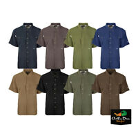 DRAKE WATERFOWL SYSTEMS FLYWEIGHT WINGSHOOTER'S SHIRT SHORT SLEEVE