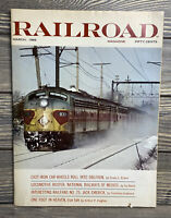Vintage Railroad Magazine March 1969