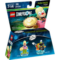 Lego Dimensions Fun Pack 71227 THE SIMPSONS Krusty NEW