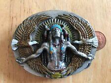 Siskiyou bergamot belt buckle. Native American. X-92. Good condition