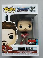 Funko Pop #529 Iron Man Endgame Tony Stark with Infinity Gauntlet NYCC Fall 2019