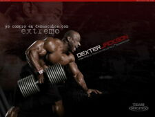"""190 GYM - Dexter Jackson Body Building Muscle Exercise Work Out 18""""x14"""" Poster"""
