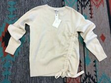 """Joie """"Iphis"""" Wool/Cashmere Ivory Pull-Over Sweater NWT S"""