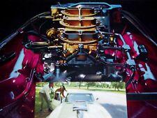 1967 CORVETTE ORIGINAL AD-327/396/427 v8 engine/block/c2/hood/door/hinge/console