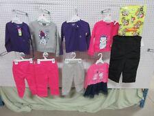 10 GIRLS TODDLER 2T WONDER KIDS JOE BOXER 24M SKI SWEAT PANTS SHIRTS PJ BULK LOT