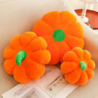 40cm Pumpkin Plush Throw Pillow Stuffed Soft Cushion Halloween Decor Gift GO9Z
