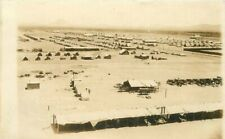 Border War Military Camp Douglas Arizona 1915 RPPC Photo Postcard 20-4997