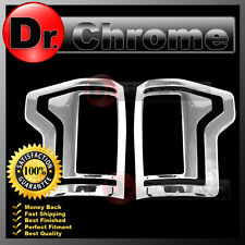 2015-2016 Ford F150 Truck Triple Chrome plated Taillight Trim Bezel Cover 15-16