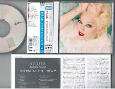 MADONNA Bedtime Stories JAPAN CD WPCR-75218 2006 'Forever Young' reissue w/OBI