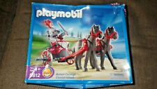 Playmobil 5812 Roman Chariot, 2 horses and Gladiator  -  NEW