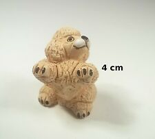 chien miniature en céramique ,collection, vitrine, hondje, dog   G-chiens-W8