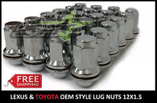 OEM FACTORY TALL MAG LUG NUTS FITS TOYOTA 12X1.5 FOR LEXUS SCION MAG SEAT WHEELS