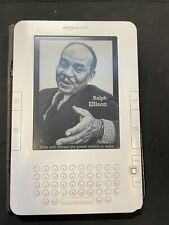 Amazon Kindle (2nd Gen.), 149 Books, 2GB, 3G (Unlocked). 6in - White - Works!
