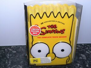 The Simpsons: Complete Tenth Season Collectors Edition - DVD - VGC