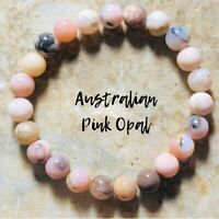 Genuine ROSE Quartz Bracelet 6mm Natural Stone AAA Grade Gemstone Bracelet Reiki