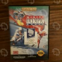 Winter Olympic Games Sega Genesis Complete W/ Case no Manual