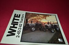 White Oliver Tractor 2-45 2-62 Tractor Dealer's Brochure YABE7