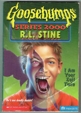 GOOSEBUMPS SERIES 2000, I AM YOUR EVIL TWIN #6, 1st edition USA, GC.