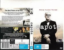 Capote-2005-Philip Seymour Hoffman-Movie-DVD