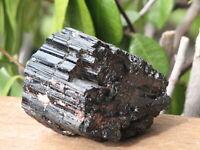Rough and Raw Black Tourmaline Crystal Piece - Omni New Age