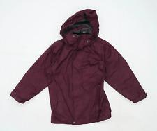 Hi Gear Girls Burgundy Coat Age 7-8 Years